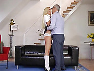 Upskrit Fuck For Tight Blonde Angie
