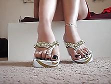 Sexy Flip Flops And Amazing Feet