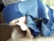Arabian Girl In Blue Hijab Sucks 5 Inch Arab Dick In Muslim Porn