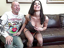 Kendra Lets Him Grab Her Big Ass While He Bangs Her