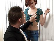 Redhead Student Seduces Teacher