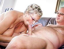Uninhibited German Granny Eats Cum In Naughty Mature Sex Session