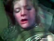 Drunk Girl Puke Fuck Outside