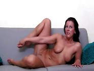 Hot Model Wants To Suck A Cock On Sofa