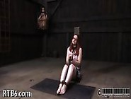 Painful Clamping For Beauty S Tits