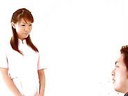 Shizuku Natsukawa With Massive Milk Sacks Rides Jock