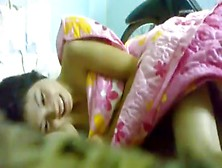 Petite Asian Girl Gets Her Hairy Pussy Missionary Fucked