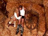 Shepherdess Linda Shane Sucked Peasant's Cock In Barn