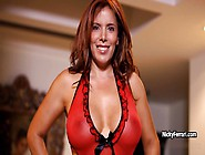 Sexy Milf Nicky Ferrari Is Throating Dick And Makes Handjob For