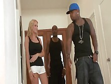 Blake Rose Cheats On Her Husband With Two Black Fornicators