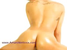 Amani Wett From Ghettogaggers Shaking Her Ass