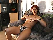 Cute Euro Redhead Girl Next Door Masturbating With Her Toy