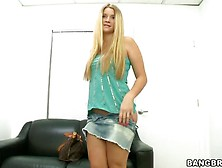 Katie Banks Is On Audition Today,  Enjoy This Great Showvia Torch