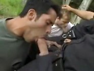 Cop Joins In Gangbang (Clips)