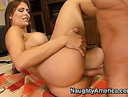 Chick With Big Ass Monique Fuentes Is Rammed By Raging Gut Wrenc