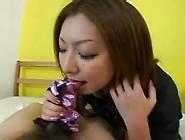 Japanese Satin Panty Handjob