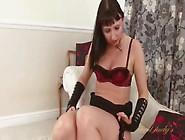 Shiny High Heels Look Hot On This Masturbating Milf