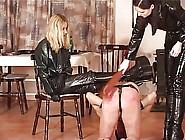 Femdom Owk Sarka Jana Paddling Slave