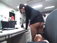 Japanese Milf Is Humiliated At Work ! Her Skirt Is Way Too Short