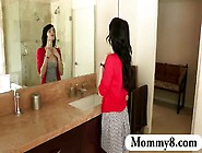 Stepmom Milf Eats The Cum Of A Teenage Boy