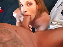 Brandi Lyons Drools All Over A Hard Dick