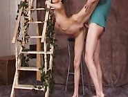 Flexible Teen With Tight Trimmed Pussy Gets Fucked Hard By Her T
