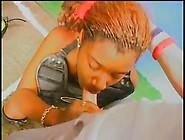 Ebony Teen Hard Rough Gagging Deepthoat Blowjob