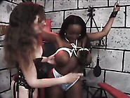 Stunning Ebony Chick With Knockout Curves Loves Being Punished
