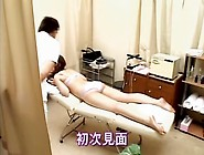 Doggystyle Japanese Fucking In The Masseur. S Office