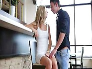 Blonde In Tight White Dress Krystal Boyd Got Her Pussy Licked An