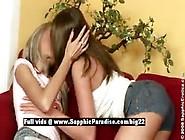 Dominika And Zara From Sapphic Erotica Lesbian Girls Licking