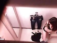 Dressing Room Hidden Camera Footage