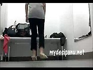 Shopping Mall Girl In Changing Room Mms