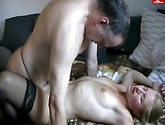 Creampied In Panthose And Licked