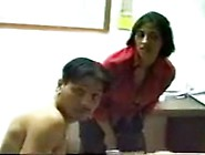 Arab Milf Takes Advantage Of Nude Boy