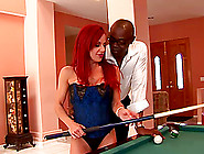 Redhead Shannon Kelly Gets Fucked In Both Holes By Black Man