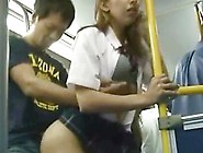 White Teen Public Bus Sex In Japan!