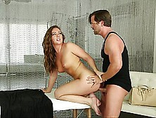 Appetizing Housewife Can't Defend Her Wet Pussy