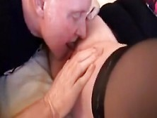 Fabulous Amateur Record With Wife,  Stockings Scenes