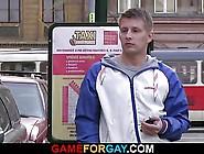 Smart Gay Seduces And Fucks Taxi Driver