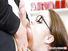 Pharmacologist Chanel Preston Helps Client With Dick Enhancement