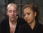 Exotic Doll Jazmine Leih Having Made Love Inside Roped And Domin