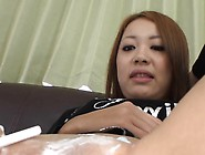 Japanese Babe Gets Uncouth Anal Fucking After Snatch Shaving
