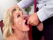 Severe Office Hardcore With Mature Ryan Conner
