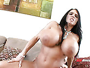 Incredibly Huge Breasted Milf Lisa Ann Madly Rides Fat Strong Co
