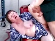 Ugly Fat Granny Gets Anal Pleasure!