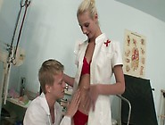 Tall And Sweet Blonde Bitch Nurse Fucked By A Doctor