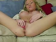 Madison's Pussy Squirts During Masturbation