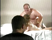 Guy Forced To Watch His Wife Fucked Hard By A Huge Chubby Man