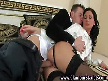 Slut Getting Fucked Hardcore In All Her Glamour Clothes